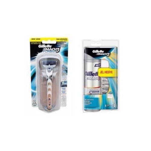Gillette Mach 3 Turbo 2 Bıçaklı Makine Tıraş Seti