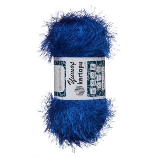 Kartopu Yumoş Mavi El Örgü İpi - K530