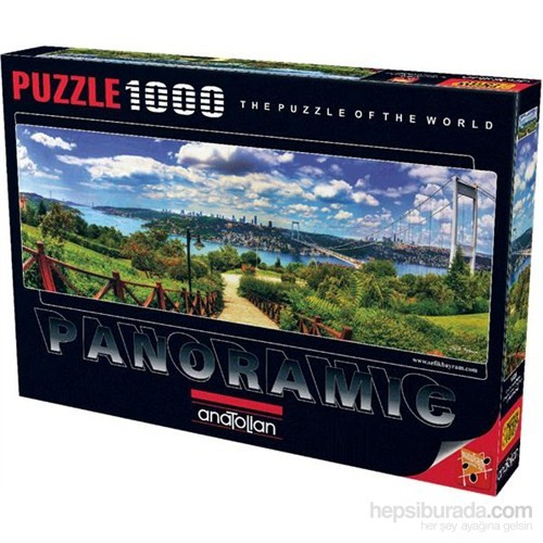 Anatolian Otağtepeden Boğaz - 1000 Parça Panoramik Puzzle