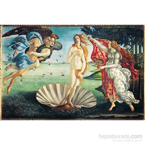 Clementoni Birth Of Venus - 1000 Parça Puzzle
