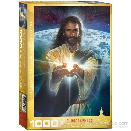Eurographics 1000 Parça Puzzle Light Of The World (Nathan Greene)