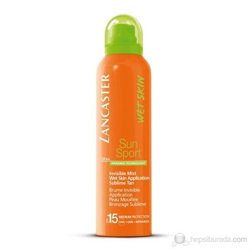 Lancaster Sun Sport Invisible Mist Wet Skin Application Sublime Tan Spf 15 125 Ml