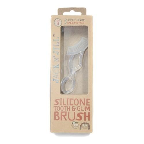 Jack N' Jill Tooth Gum Brush 14 Yaş İçin Dişlik Ve Çift Taraflı Fırça