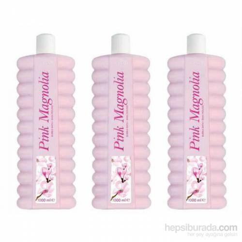 Avon Pembe Manolya Kokulu Banyo Köpüğü - 1000 Ml 3 Adet