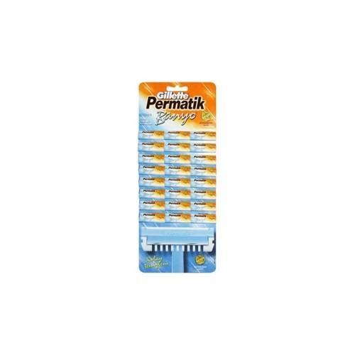 Gillette Permatik Banyo Kullan-At Tıraş Bıçağı 48 Li