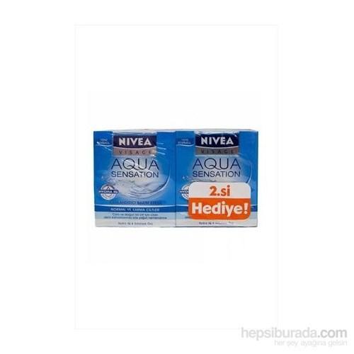 Nivea Visage Aqua Sensation Gündüz + Gece Set 50 Ml