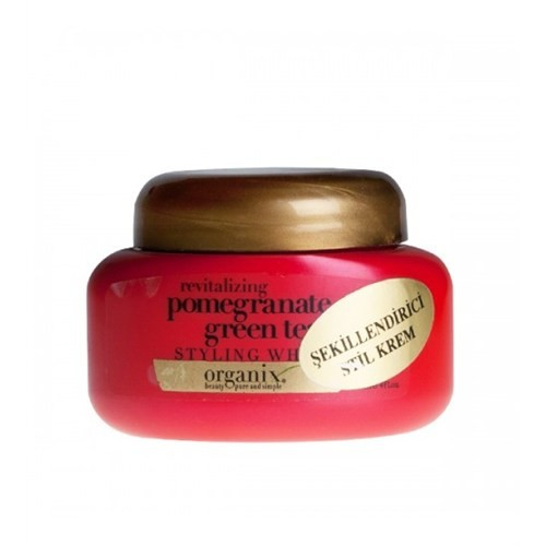 Organix Pomegranate Ve Greentea Şekillendirici Stil Kremi 118Ml