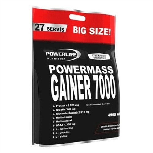 Powerlife Mass Gainer 7000 4590 Gr
