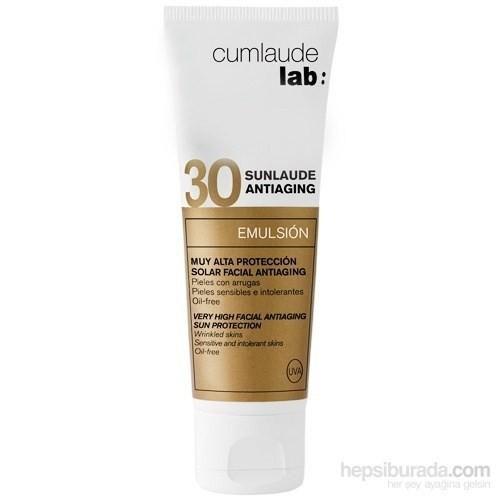 CUMLAUDE LAB SUNLAUDE SPF30 Anti-aging Emulsion 50 ml