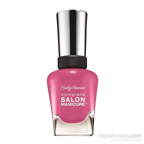 Sally Hansen Complete Salon Manicure - Courtsesan- 5'Li Etkili Oje- Menekşe Rengi
