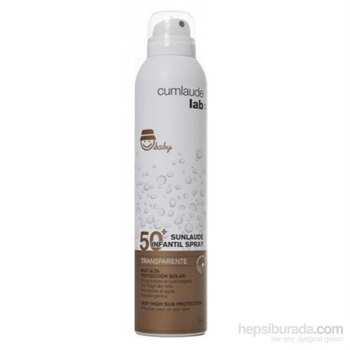 CUMLAUDE LAB SUNLAUDE Infantil Spray SPF50+ Transparente 200 ML