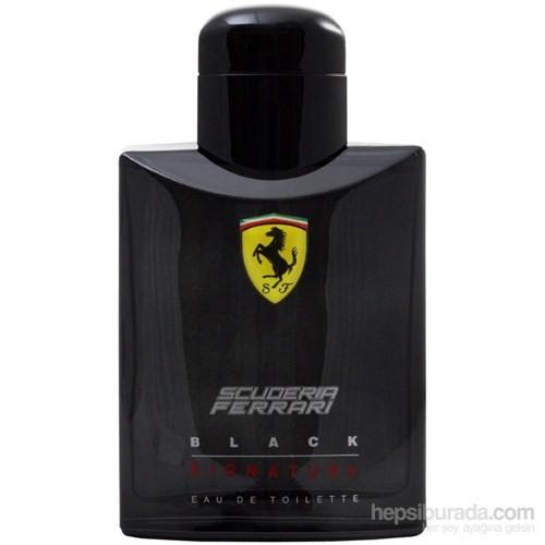 Ferrari Scuderia Black Signature Edt 125 Ml Erkek Parfümü