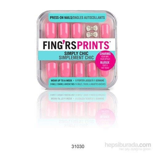 Fing'rs Prints Takma Tırnak Pretty In Pink 31030