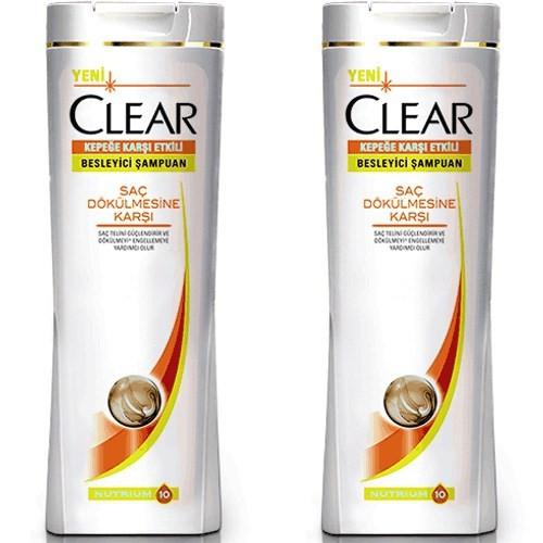 Clear Women Şampuan Saç Dökülmesine Karşı 650 Ml X 2 Adet