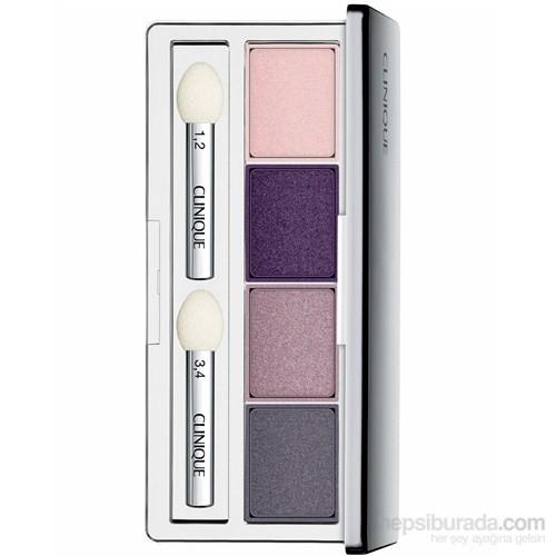 Clinique All About Shadow Quad 06 Pink Chocolate 4'lü Göz Farı