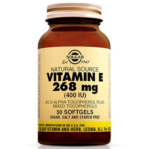 Solgar Vitamin E 400 Lu 268 Mg 50 Kapsül