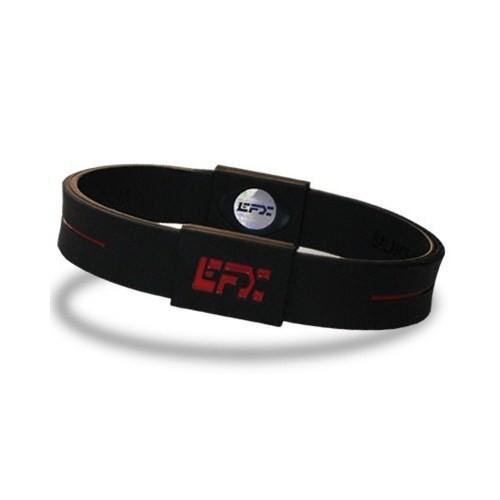 EFX Sport Silikon Bileklik Siyah-Kırmızı ( Hologramlı)