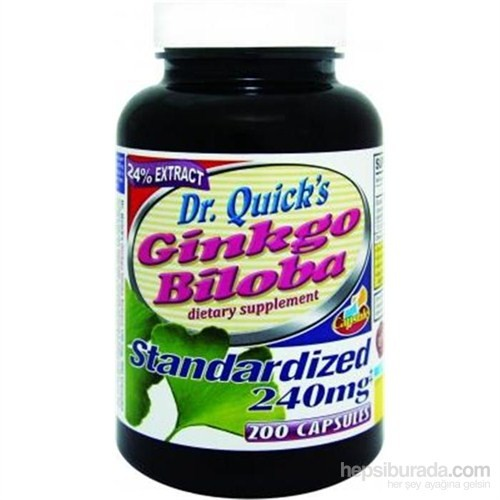Dr Quicks Ginkgo Biloba 200 Kapsül