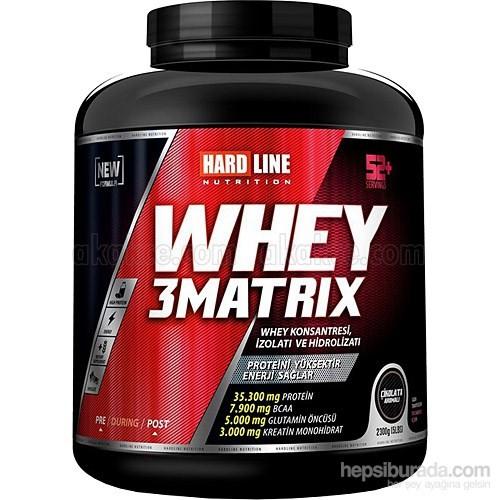 Hardline Whey 3 Matrıx Protein Tozu 2300Gr
