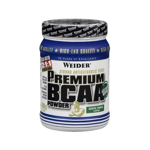 Weider Premium Bcaa Powder 500Gr Tropikal Meyve Aromalı