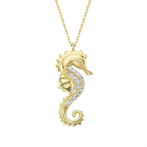 Altınsepeti Deniz Atı Kolye Altın As1021kl