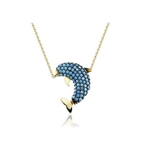 Swandia Yunus Balığı Kolye Swn001506
