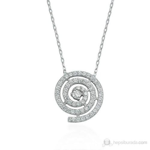 Glorria 925 Ayar Gümüş Lava Kolye