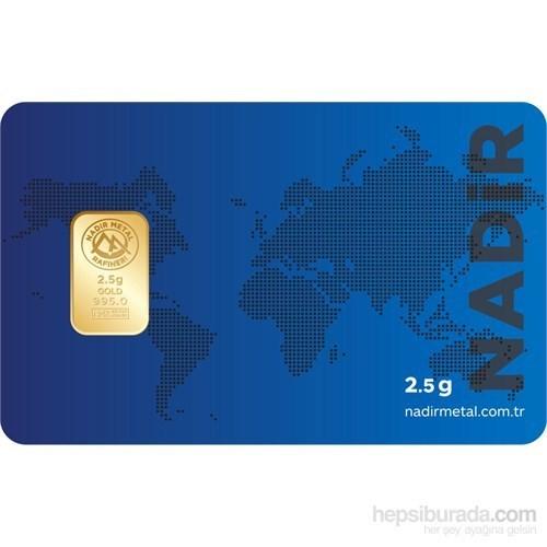 Nadir Gold 24 Ayar Külçe Gram Altın 2,5 Gr.