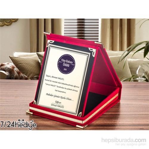 7/24 Hediye Babalara Özel Plaket Ödülü