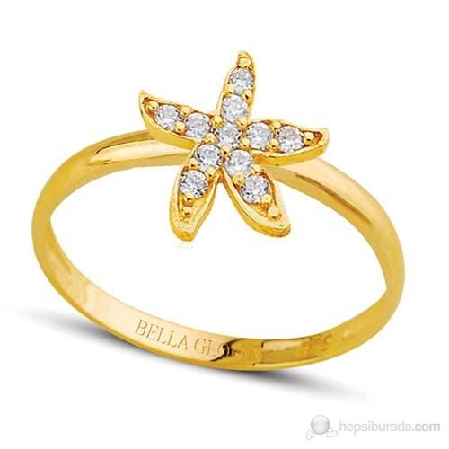 Bella Gloria Altın Deniz Yıldızı Yüzük (PR78082)