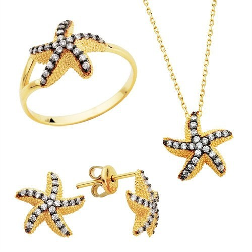 Bella Gloria Deniz Yıldızı Altın Takım (Pt78301)