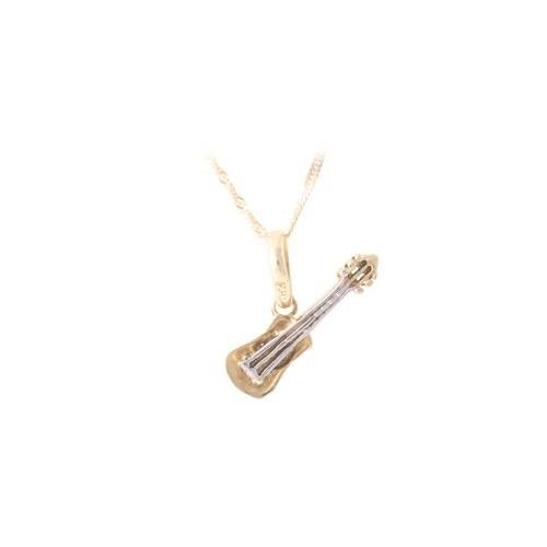 AltınSepeti Altın Gitar Kolye AS129KL