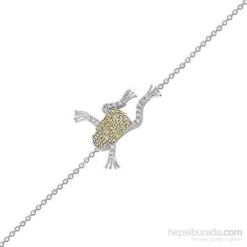 Altınsepeti Gümüş Kurbağa Bileklik G81bl
