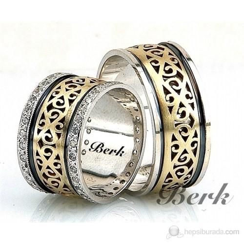 Berk Kuyumculuk Gümüş Alyans 5527 (Çift Fiyatı)