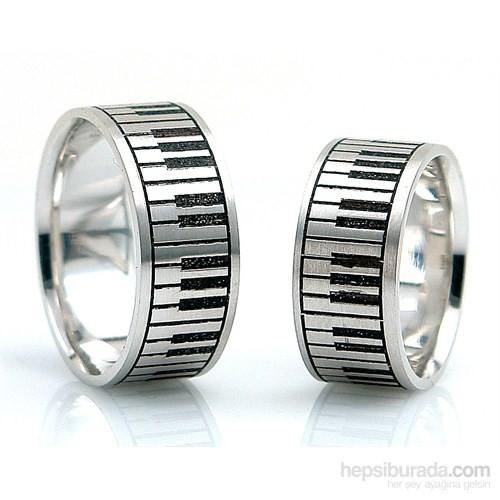 Berk Kuyumculuk Gümüş Alyans 5574 (Çift Fiyatı)