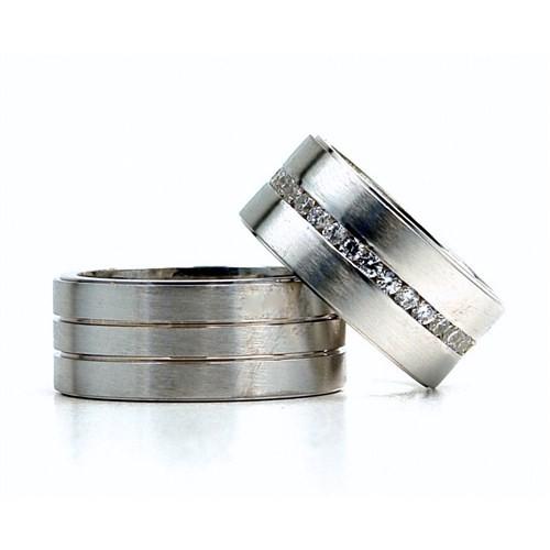 Berk Kuyumculuk Gümüş Alyans 5807(çift)