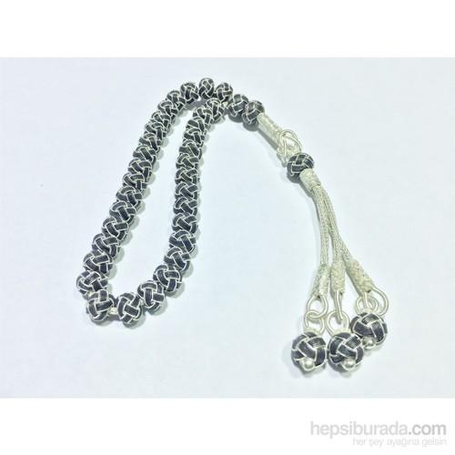 Arjuna Tesbih Kazaz Gümüş 1000 Ayar Küre Kesim Tesbih Tb067kk