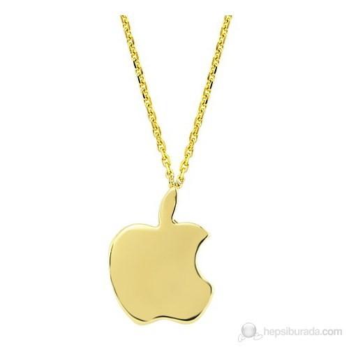 Goldstore 14 Ayar Altın Elma Kolye Gp25348