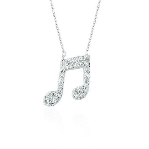 Glorria Gümüş Melodi Kolye