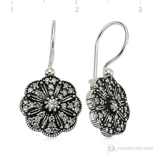Gumush 925 Zirkon Taşlı Gümüş Küpe   Ea1760006