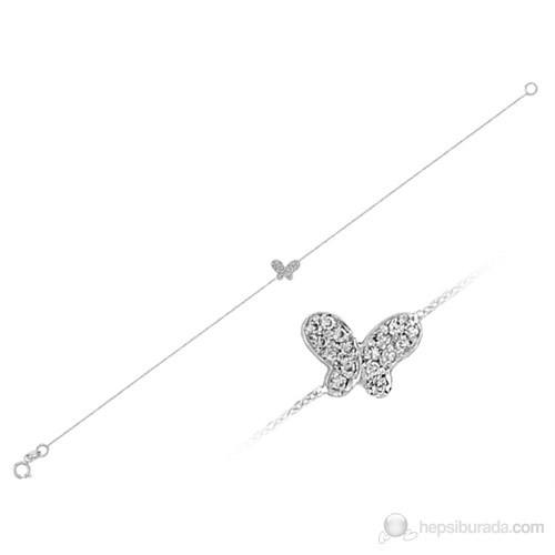 Sirius Pırlanta Taşlı Kelebek Bileklik