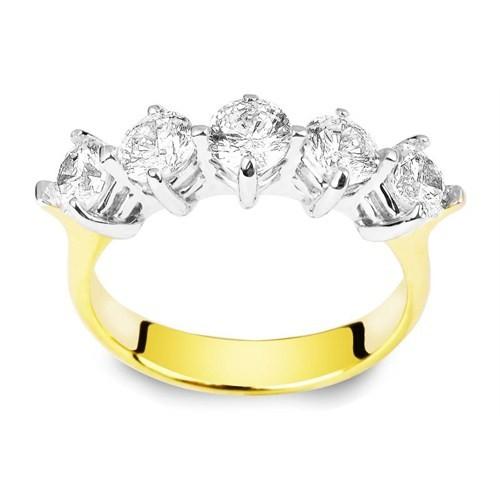 Melis Gold Altın Tamtur Yüzük Ay0000121
