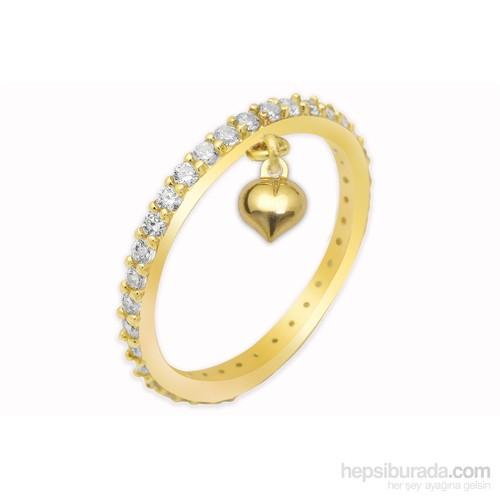 Melis Gold Tamtur Kalpli Yüzük Ay0000263