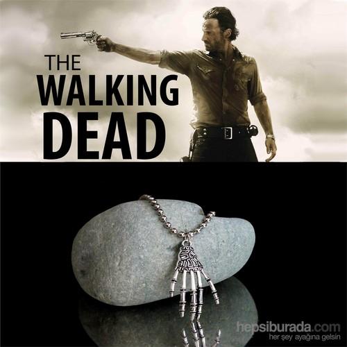 Takıcadde The Walking Dead Zombıe Hand Kolye