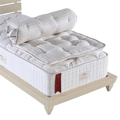 Wellmatt Ortopedik Yün Yatak Pedi 80x160 (El Yapımı Doğal Yün)