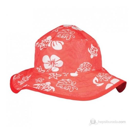 Baby Banz Kırmızı Turtle Çift Taraflı Şapka Unisex