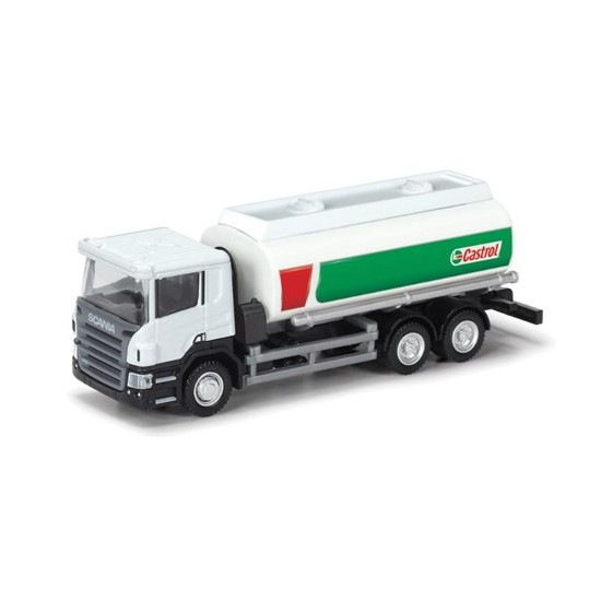 Rmz City Die Cast 1:64 Scania Castrol Tanker 144004