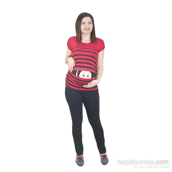 Elija Çizgili Bebek T-Shirt