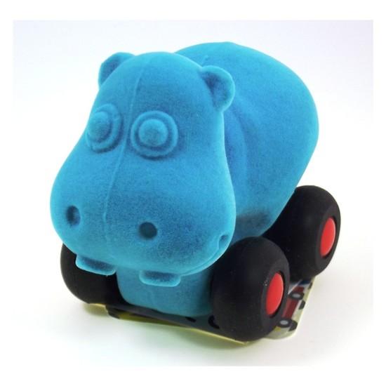 Rubbabu Küçük Hayvanlar Rubbabu Mavi Hipopotam