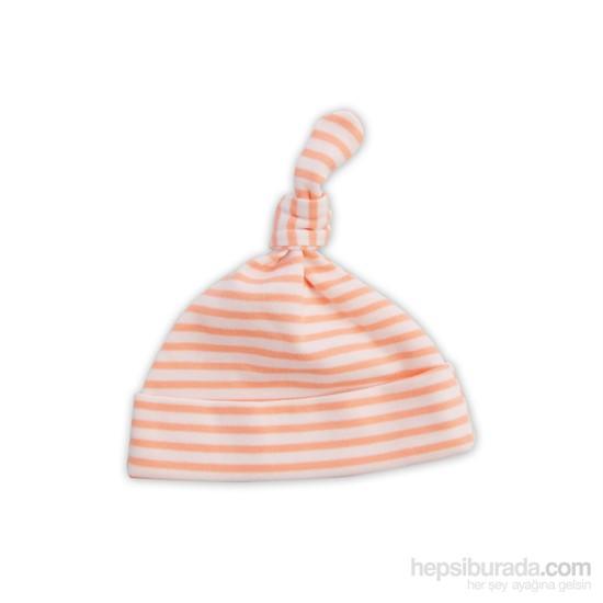 Baby Cornerçizgili Kukuleta Şapka